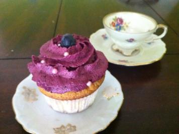 Blueberry Cupcakes - Rezept