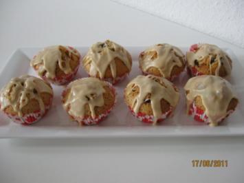 muffin mit schoko und schokost ckchen rezepte. Black Bedroom Furniture Sets. Home Design Ideas
