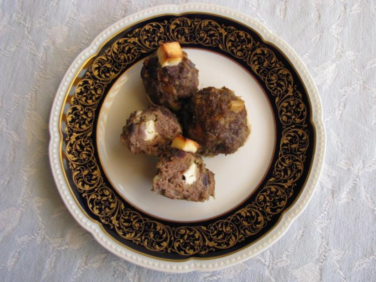Fleisch Frikadellen aus dem Backofen  Rezept  kochbarde