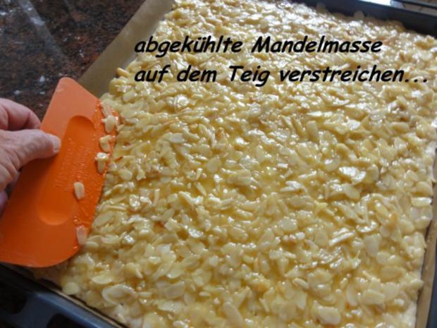Bienenstich kuchen rezept mit pudding