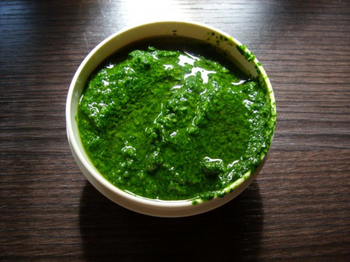 Petersilien pesto rezept