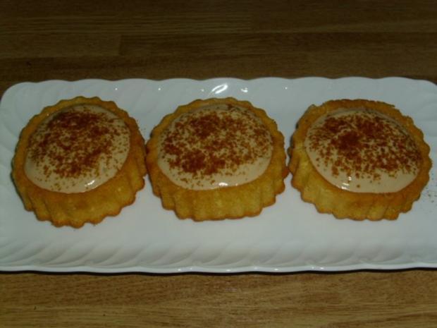 schnelle eiskaffee torteletts rezept mit bild. Black Bedroom Furniture Sets. Home Design Ideas