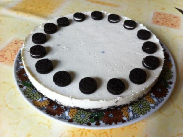 philadelphia torte mit oreo rezept mit bild. Black Bedroom Furniture Sets. Home Design Ideas