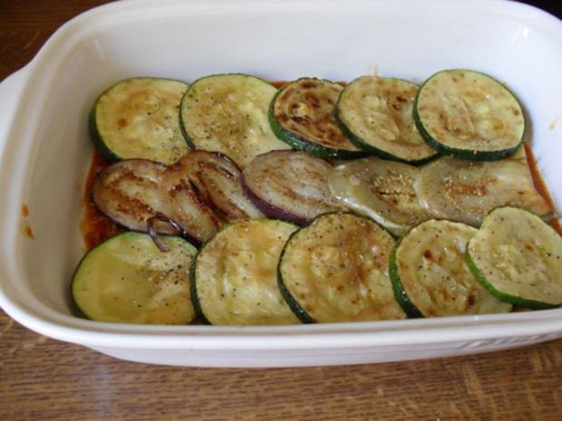 lasagne mit zucchini und auberginen rezept. Black Bedroom Furniture Sets. Home Design Ideas