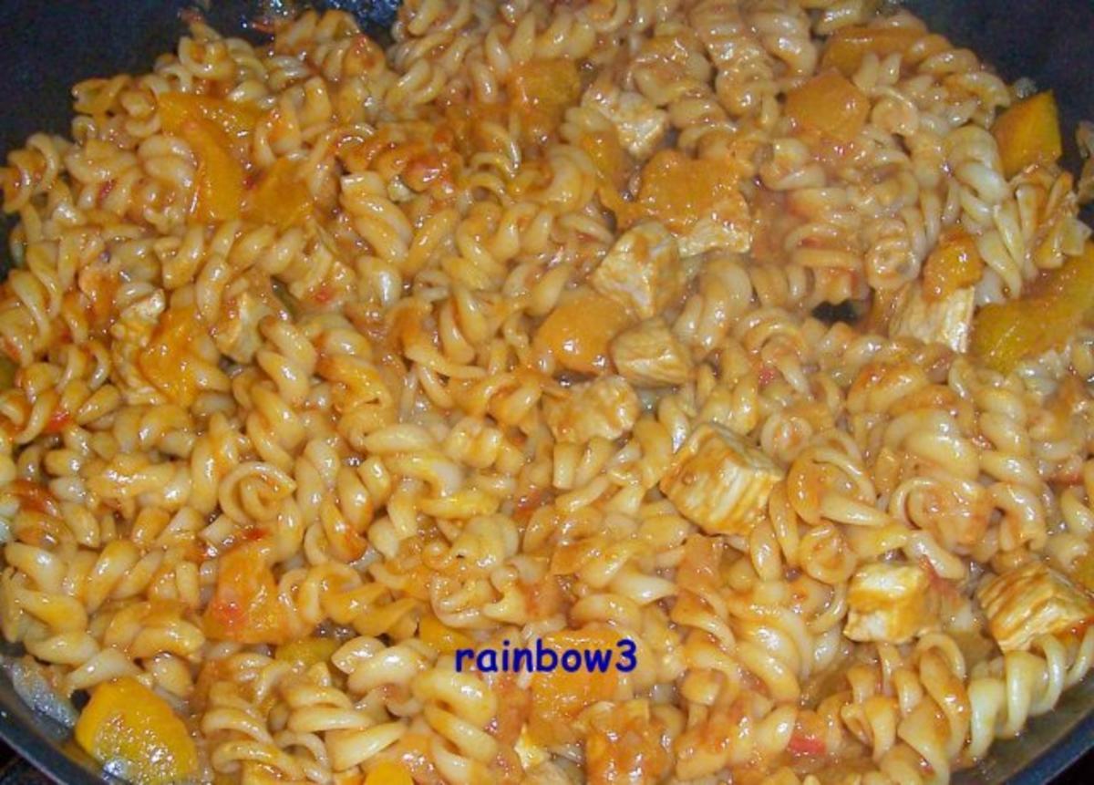Kochen scharfe paprika nudel pfanne rezept for Kochen im sommer