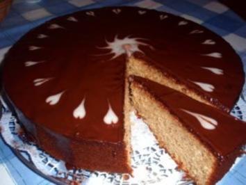 Kuchen gehackte haselnusse