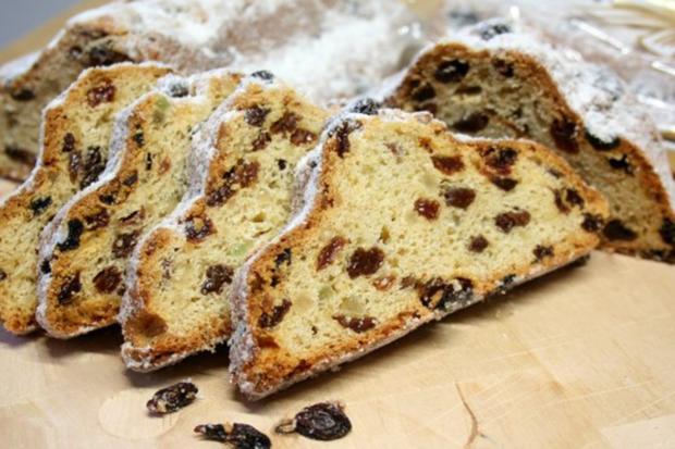 Stollen Cake With Marzipan Recipe