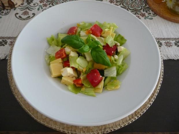 salat gemischten hirtensalat rezept. Black Bedroom Furniture Sets. Home Design Ideas