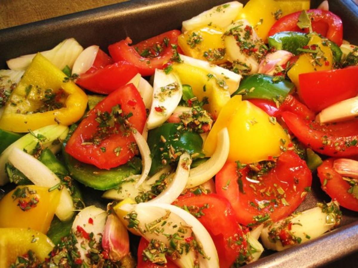 GemüseAllerlei aus dem BackofenRezept  kochbarde ~ Backofen Gemüse
