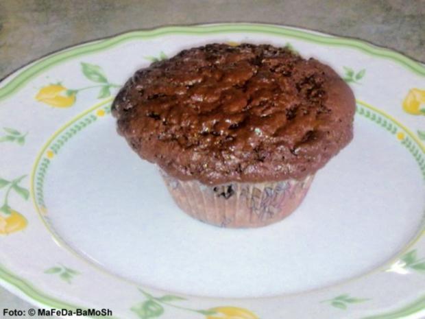 schoko muffins rezept mit bild. Black Bedroom Furniture Sets. Home Design Ideas