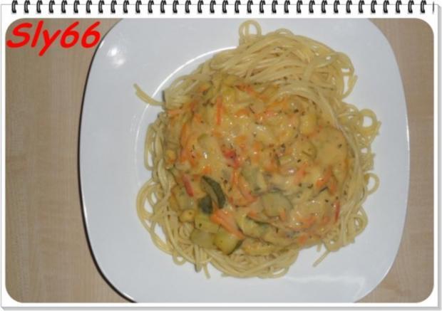 pasta vegetarisch spaghetti mit gem seso e rezept. Black Bedroom Furniture Sets. Home Design Ideas