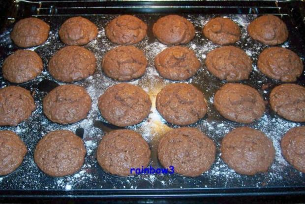 backen mini schokoladen muffins rezept. Black Bedroom Furniture Sets. Home Design Ideas