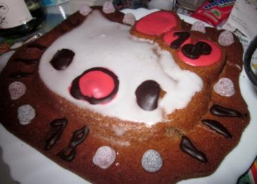 Hello Kitty Kuchen =) - Rezept