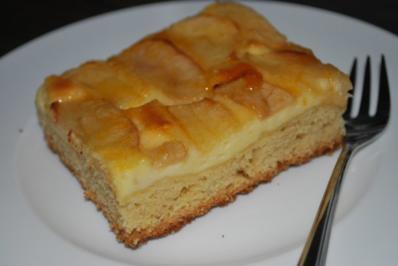 Apfel quark kuchen blech