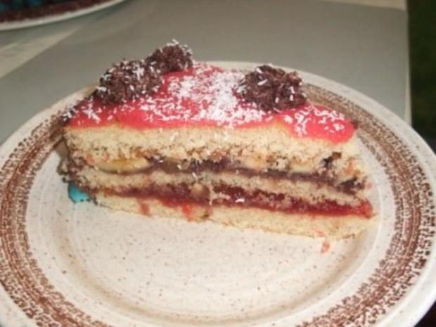 Torte marzipan obst