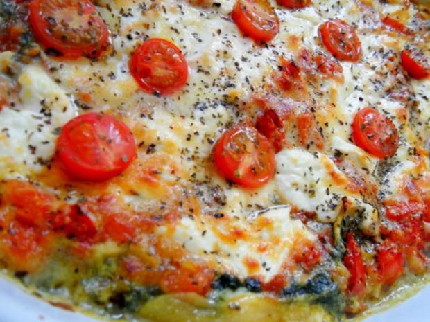 vegetarische spinat lasagne mit artischocken rezepte suchen. Black Bedroom Furniture Sets. Home Design Ideas