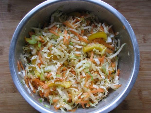 salat chinakohl salat mit gem serohkost rezept. Black Bedroom Furniture Sets. Home Design Ideas