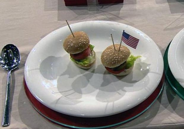 mini hamburger promi team rezept mit bild. Black Bedroom Furniture Sets. Home Design Ideas