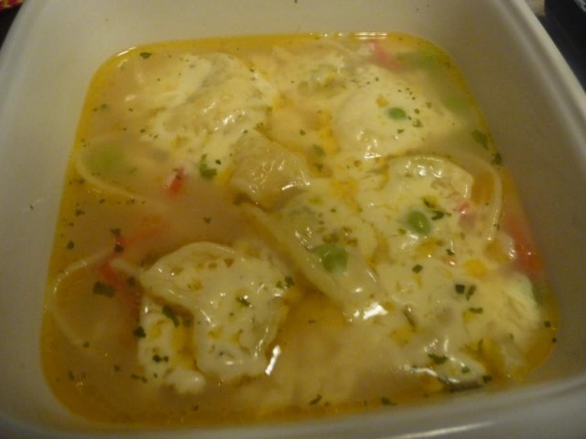 Aus dem Backofen  Tortellini  Gemüse Zwiebelsuppe mit  ~ Backofen Gemüse
