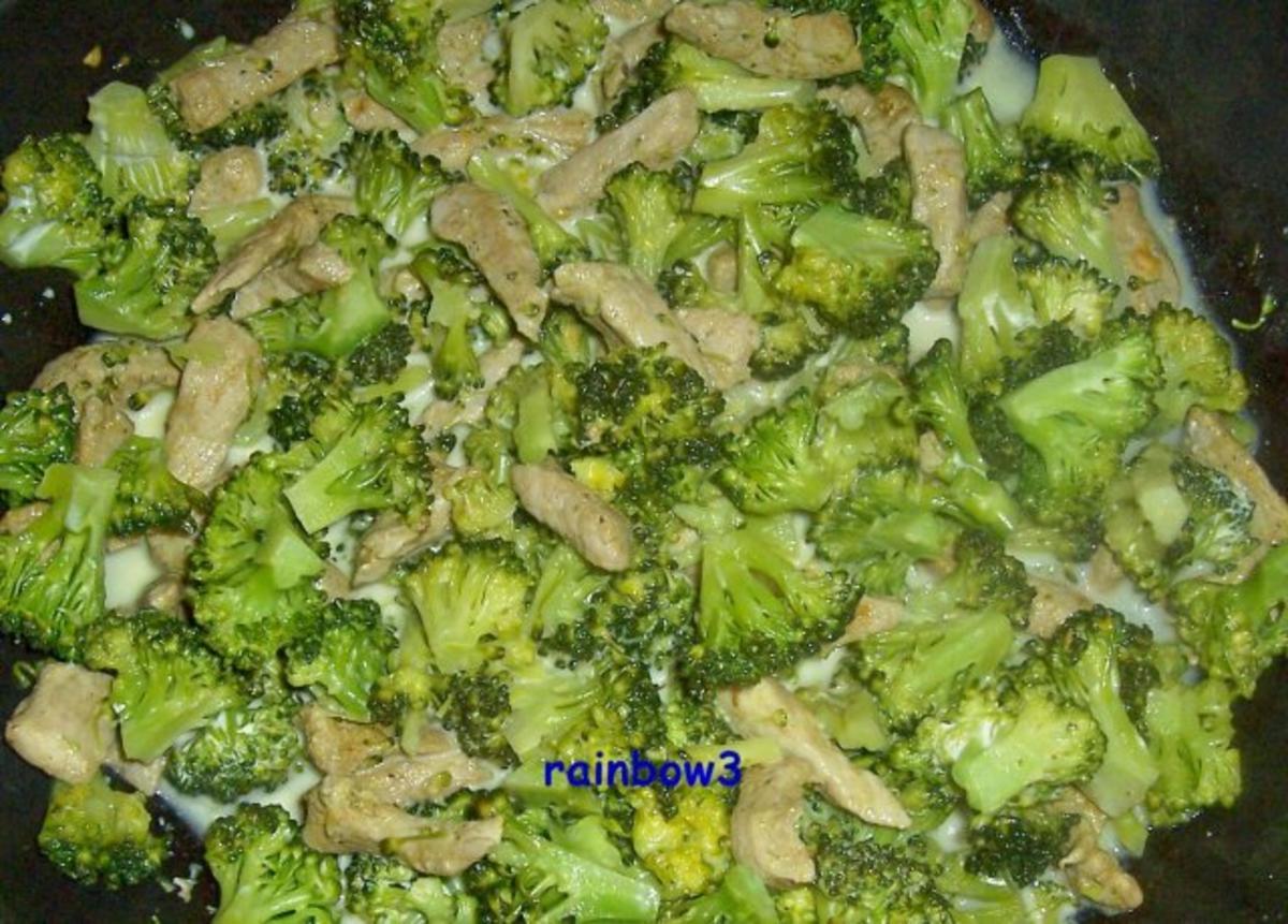 Kochen schweine geschnetzeltes mit broccoli rezept for Kochen im sommer