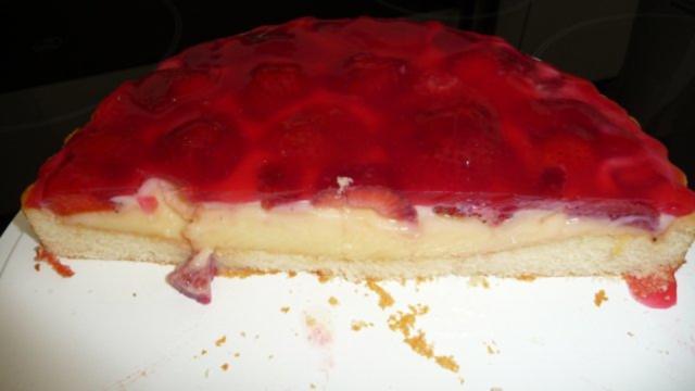 Erdbeerkuchen mit pudding rezept
