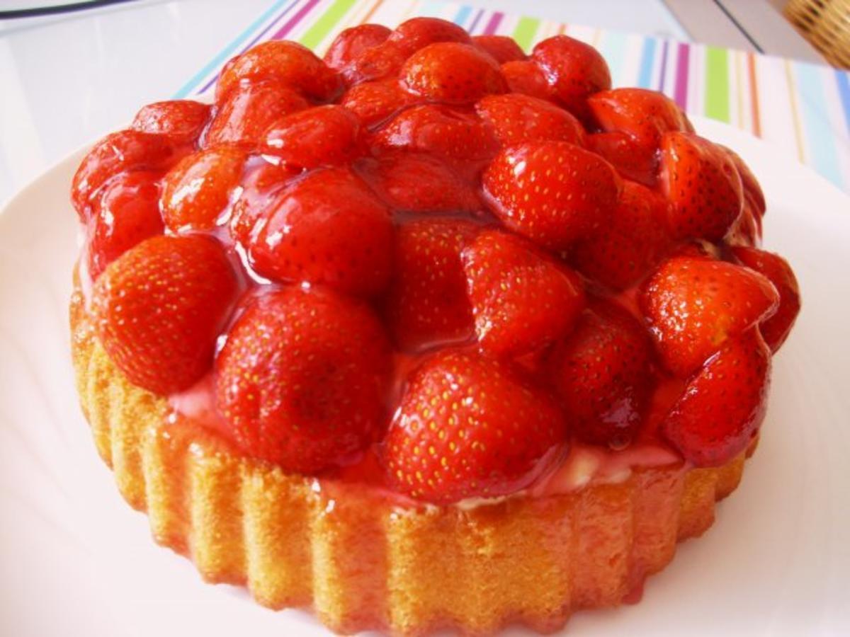 Erdbeer kuchen ohne mehl