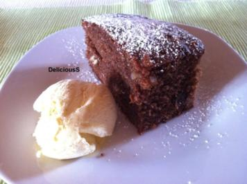 Hot Chocolate Brownie - Rezept