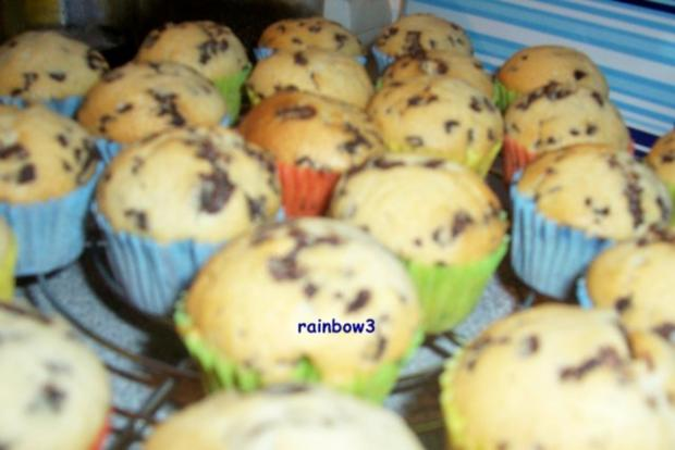 backen stracciatella mini muffins rezept. Black Bedroom Furniture Sets. Home Design Ideas