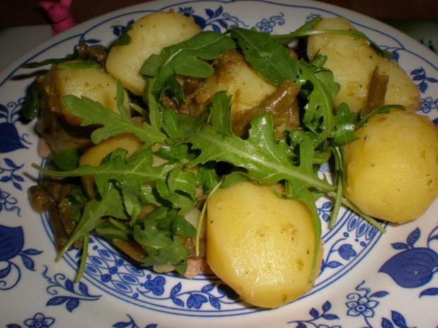 kartoffel rucola salat rezept mit bild. Black Bedroom Furniture Sets. Home Design Ideas