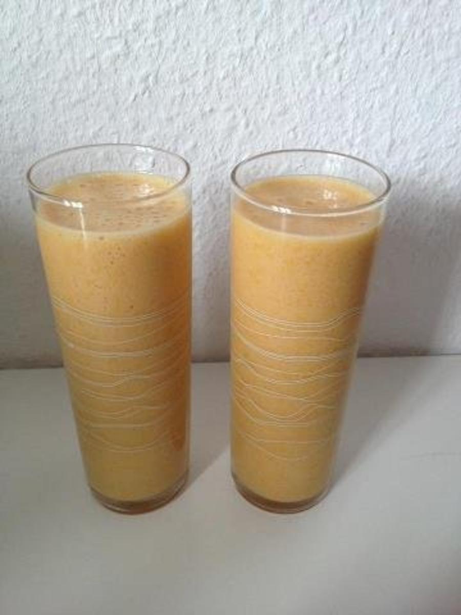 chai latte mango smoothie rezept mit bild. Black Bedroom Furniture Sets. Home Design Ideas
