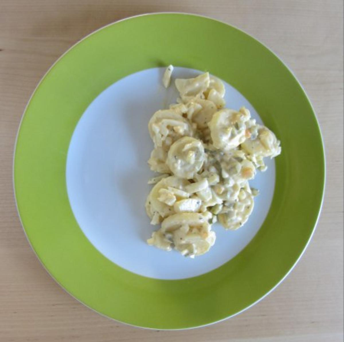 kartoffelsalat mit kartoffel und eier rezept mit bild. Black Bedroom Furniture Sets. Home Design Ideas