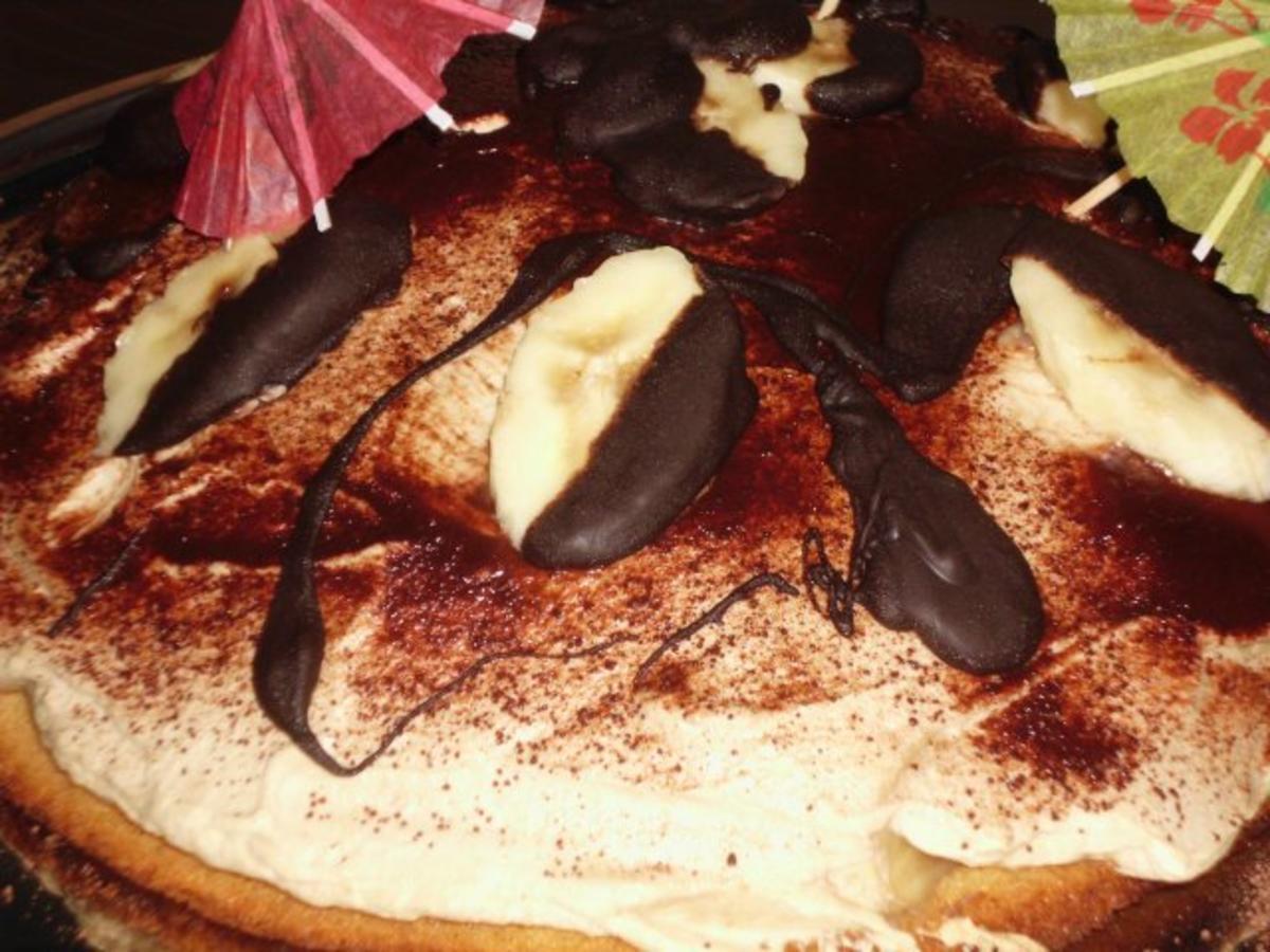 eiskaffee bananen torte rezept mit bild. Black Bedroom Furniture Sets. Home Design Ideas