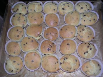 muffins mit schokost ckchen rezept mit bild. Black Bedroom Furniture Sets. Home Design Ideas
