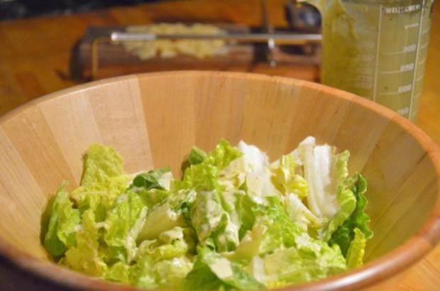 mein caesar s salad rezept mit bild. Black Bedroom Furniture Sets. Home Design Ideas
