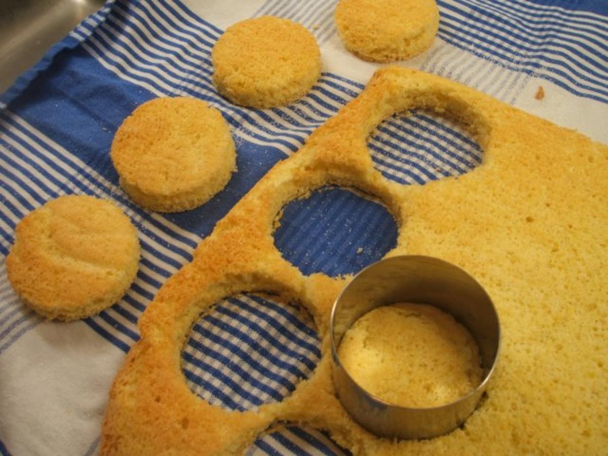 Backen: Schneller Orangen-Biskuit als Basis für Desserts oder kleine Törtchen - Rezept - kochbar.de