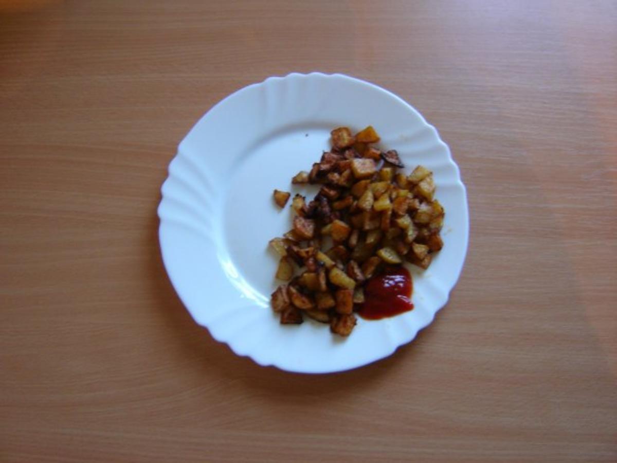 BackofenBratkartoffeln  Rezept mit Bild  kochbarde ~ Backofen Rezepte