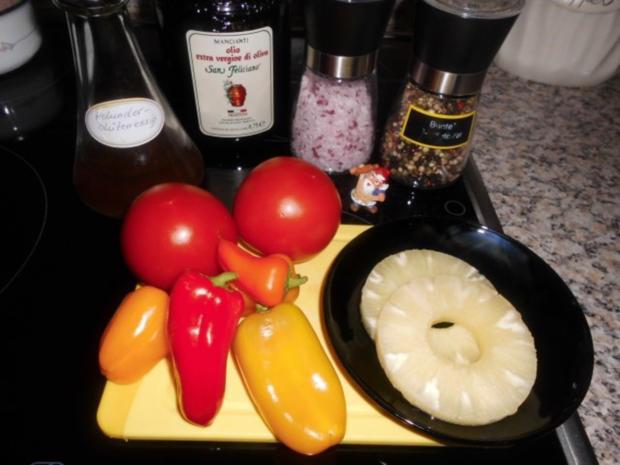 tomaten paprika ananas salat rezept. Black Bedroom Furniture Sets. Home Design Ideas