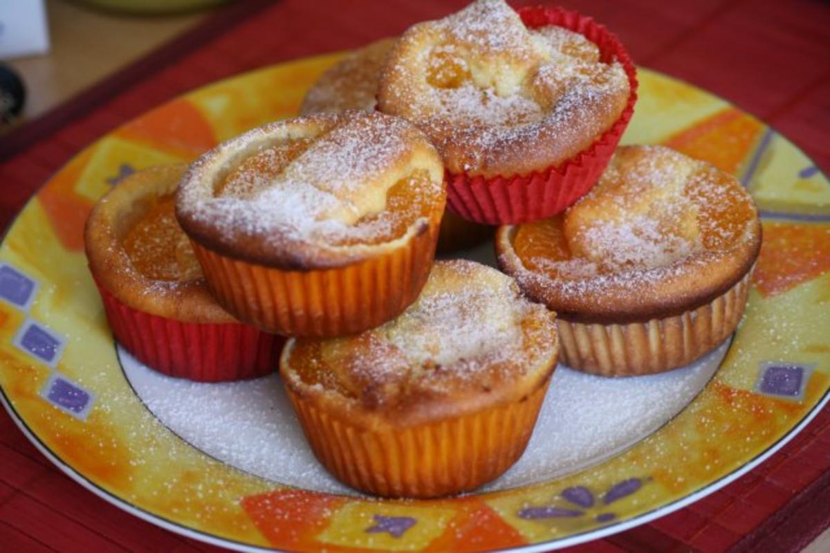 mandarinen quark muffins rezept mit bild. Black Bedroom Furniture Sets. Home Design Ideas