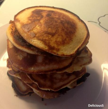 american pancakes rezept mit bild. Black Bedroom Furniture Sets. Home Design Ideas
