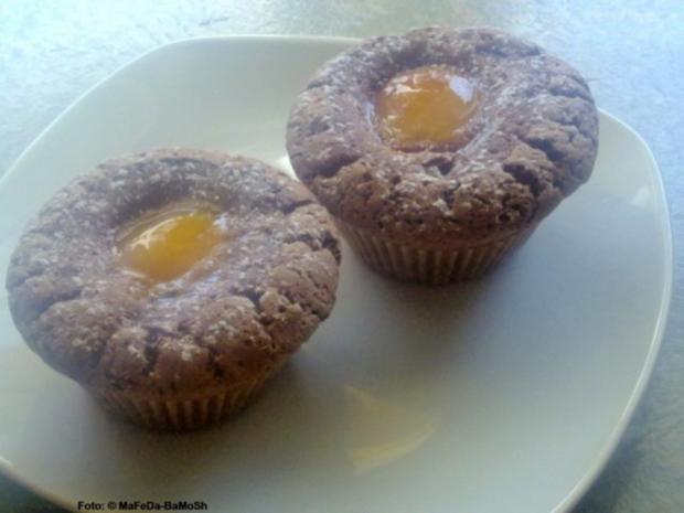 schokoladen aprikosen muffins rezept mit bild. Black Bedroom Furniture Sets. Home Design Ideas