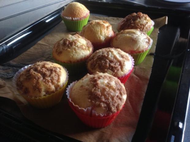 klassik klassisches muffin rezept basic mit zimtstreuseln. Black Bedroom Furniture Sets. Home Design Ideas