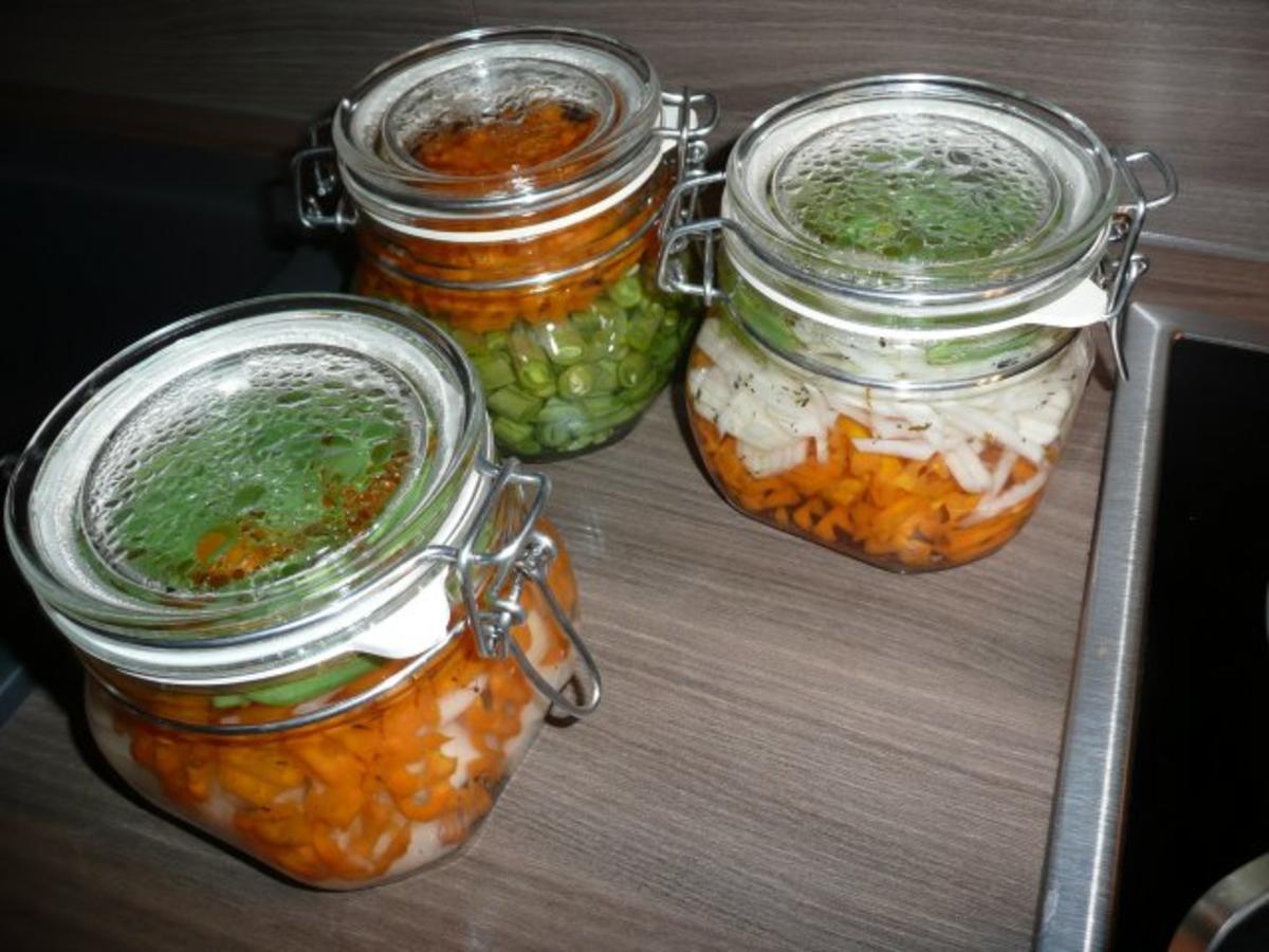 Karotten einwecken salat