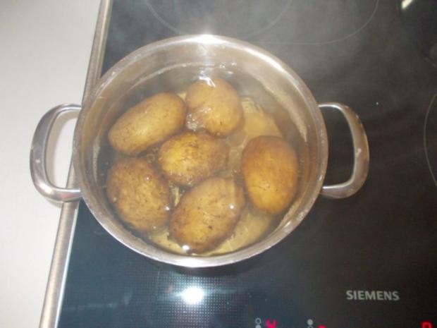 kartoffelsalat mit frischer gurke