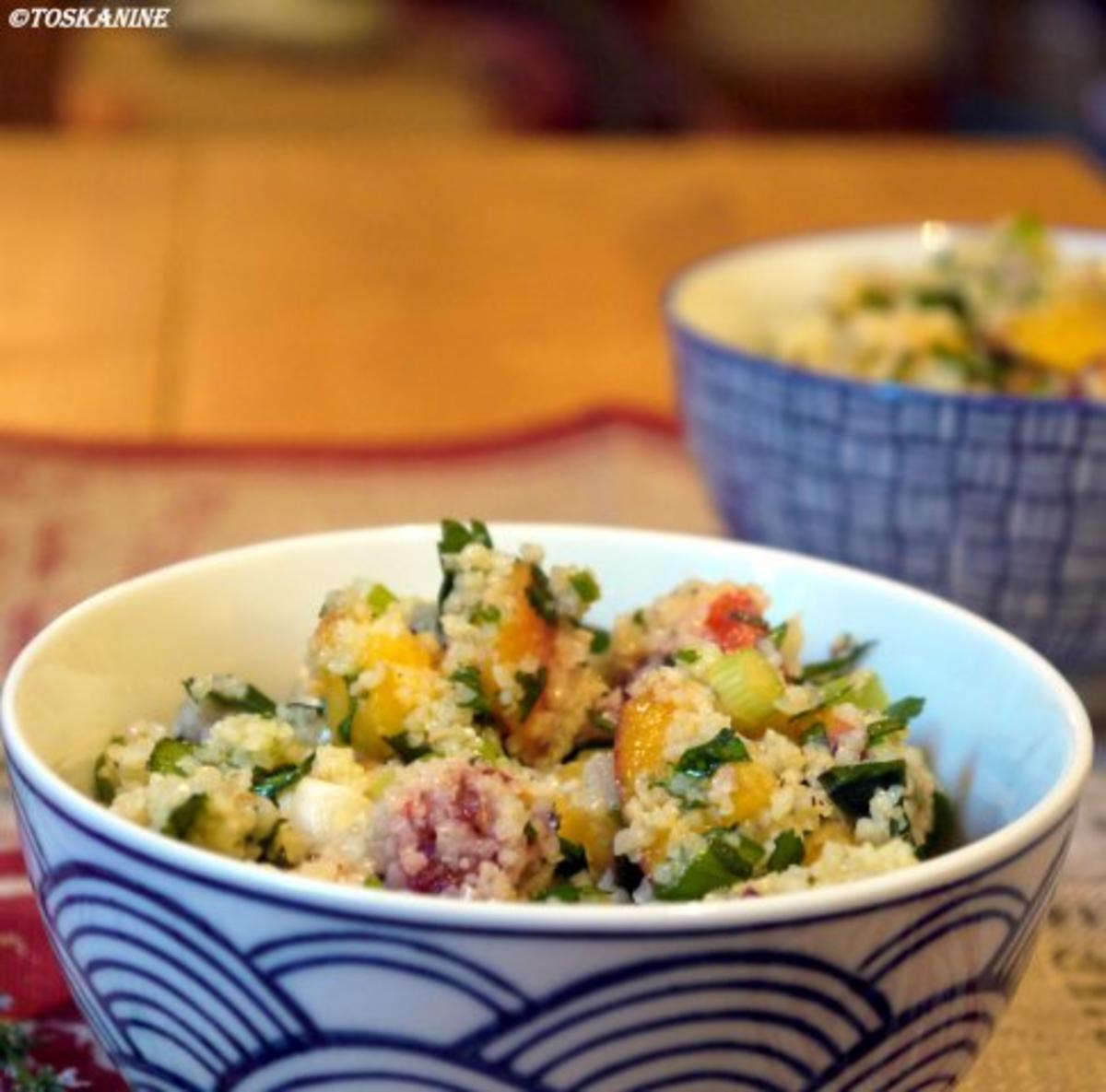 pfirsich bulgur salat rezept mit bild. Black Bedroom Furniture Sets. Home Design Ideas