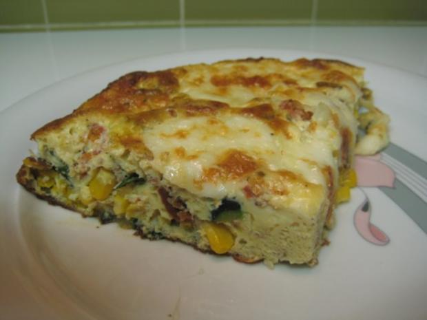 zucchini mais omelette rezept mit bild. Black Bedroom Furniture Sets. Home Design Ideas