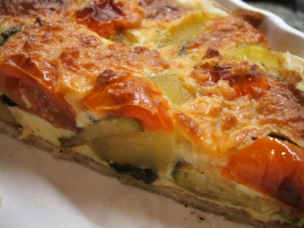pikantes backen quiche aus bl tterteig mit zucchini rezept. Black Bedroom Furniture Sets. Home Design Ideas