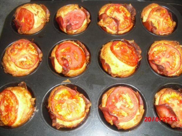 Schinken-Käse-Muffins - Rezept mit Bild - kochbar.de
