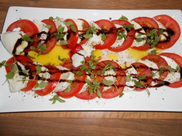 Tomate Mozzarella Rezept : tomate mozzarella platte rezept mit bild ~ Lizthompson.info Haus und Dekorationen