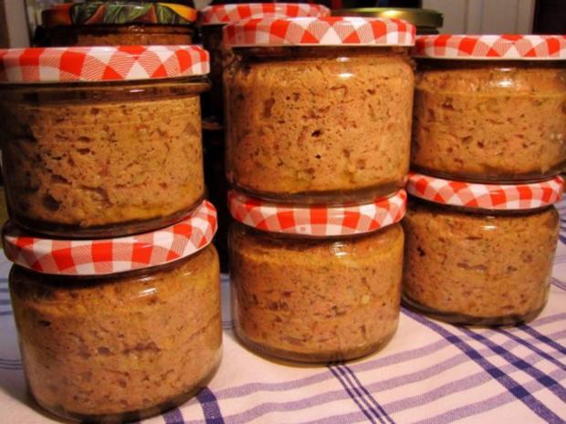 Leberwurst einkochen rezept