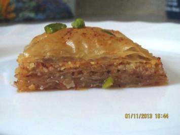 Backen: Baklava - Rezept